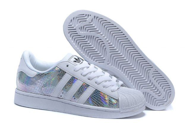 Adidas Originals Superstar Unisex Casual Shoes White/Silver ...