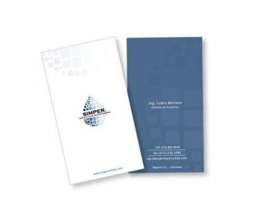 Aplicativos Marca SIMPER. Business Card.