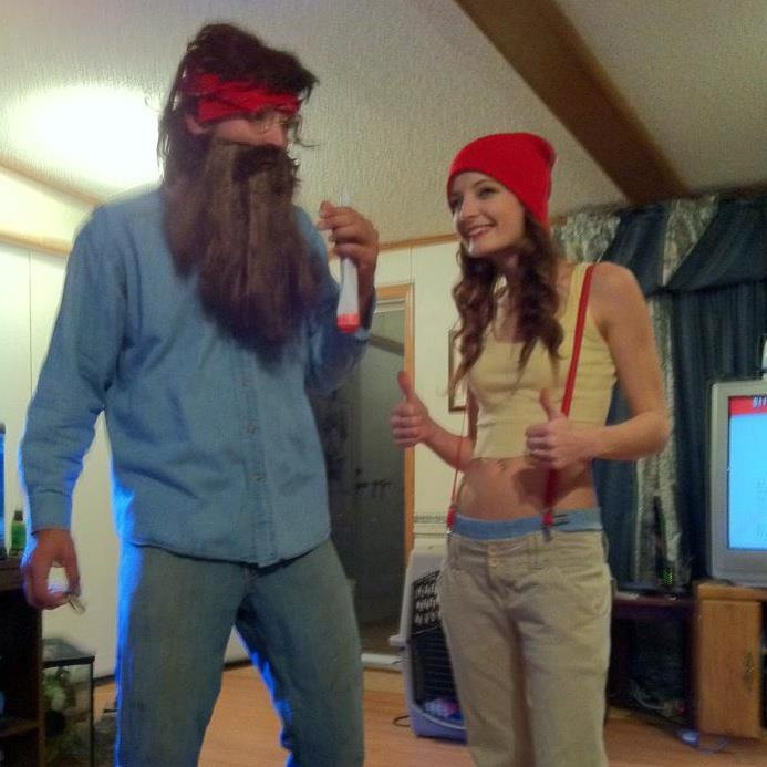 halloween 2011 cheech and chong up in smoke hands down best couples costume ive seen - Halloween Costume Ideas Mustache