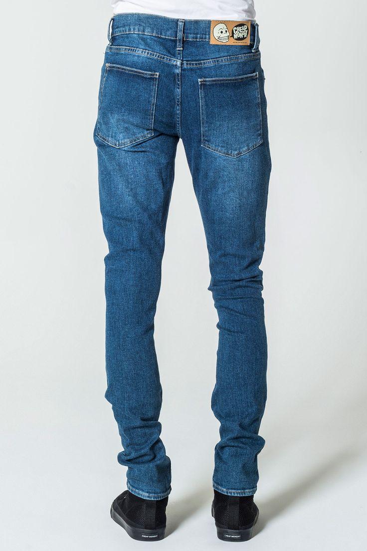 Tight Base Dark Blue Jeans