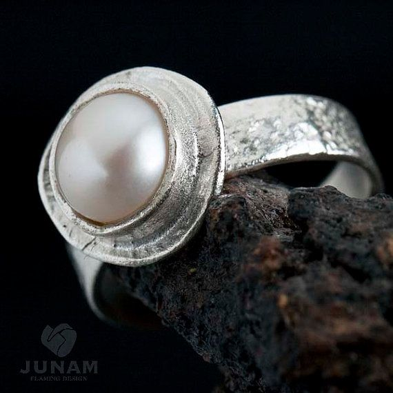 http://www.etsy.com/listing/65364095/silver-ring-with-pearl-made-of-sterling?ref=v1_other_1 ring silver junam jewelry