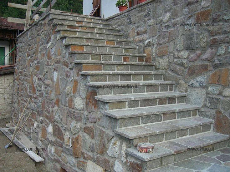 Oltre 25 fantastiche idee su scale in pietra su pinterest scale da giardino gradini in pietra - Foto scale esterne ...