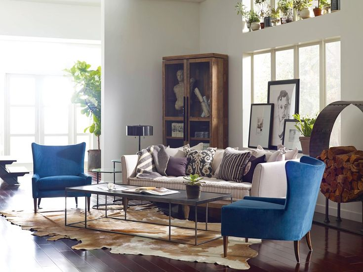 Clean Straight Lines Mixed With Traditional Elements Like Channel Tufting  Feel Richly Stylized Yet Casually Inviting. Each Wing Chair Is Hand Made Of  ...