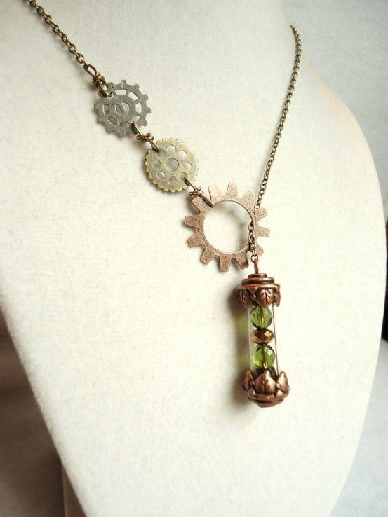 Time after time.: Amazing Pins, Basement My Style Pinboard, Steampunk Necklace, Watches Necklaces, Accessories, Sweet Timey