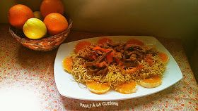 Pauli a la cuisine: Wok De Ternera Con Naranja Y Jengibre