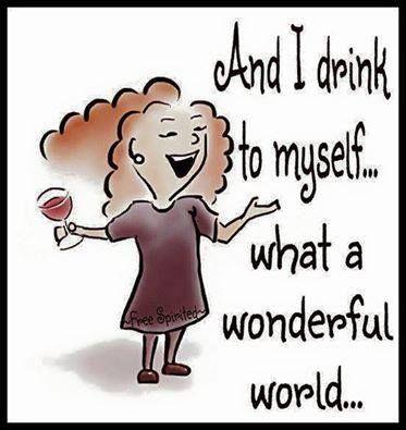 And I drink to myself... www.LiveLaughLoveWine.com