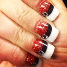34 Popular Christmas Nail Art Design For Christmas Party Nails