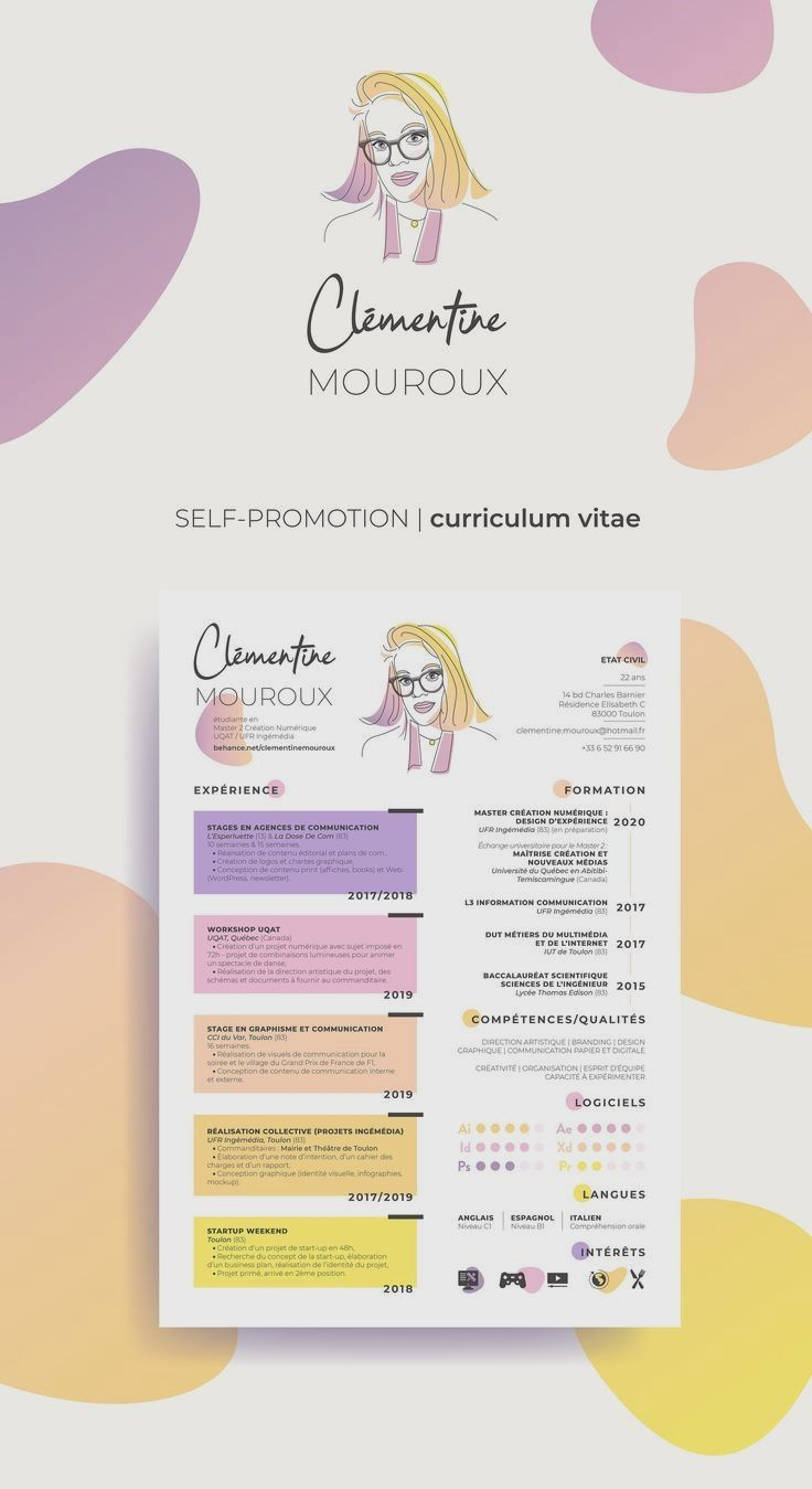 Resume For Marketing Resume For Sales Resume For Word Mac Pc Cover Letter Professional R In 2020 Graphic Design Resume Cv Design Creative Resume Design Creative