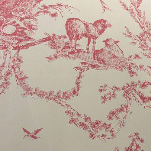 Pierre Deux Wallpaper Pattern Quatre Saisons
