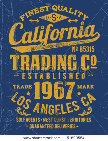 Vintage Type Lock-Up Apparel Design by Tairy Greene