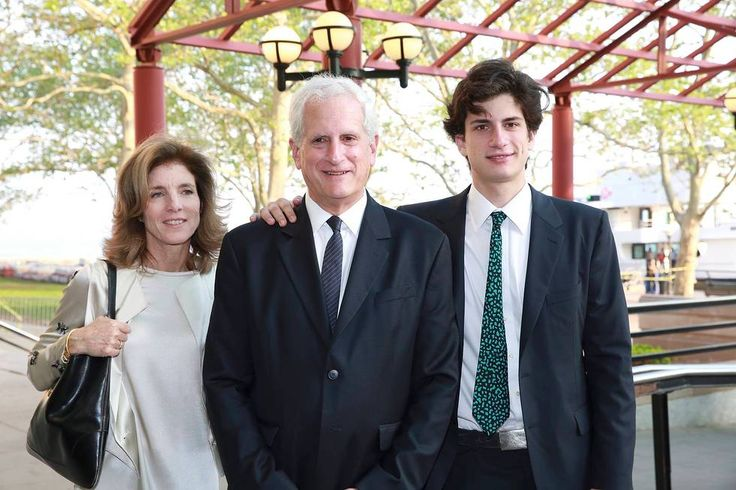 Caroline Kennedy, Edwin Schlossberg, and John Schlossberg attend the 2015 Statue of Liberty-Ellis Island Foundation's Gala In The Great Hall at Ellis Island National Museum of Immigration on May 19, 2015 in New York City. Photo Credit: Amy Sussman/Invision for the Statue of Liberty-Ellis Island Foundation/AP Images