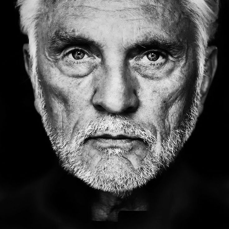 ACTORS IN BLACK AND WHITE. Terence Stamp