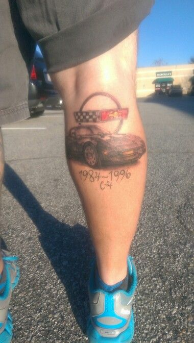 1000 images about car tattoo 39 s on pinterest tow truck for Little johns tattoo greensboro nc