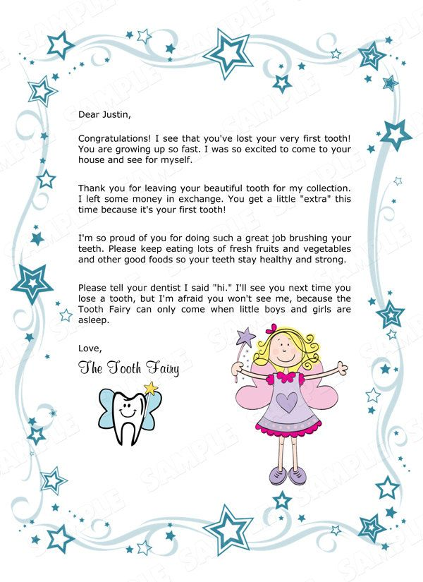 8 best tooth fairy images on pinterest teeth dental and for Fairy letters to child