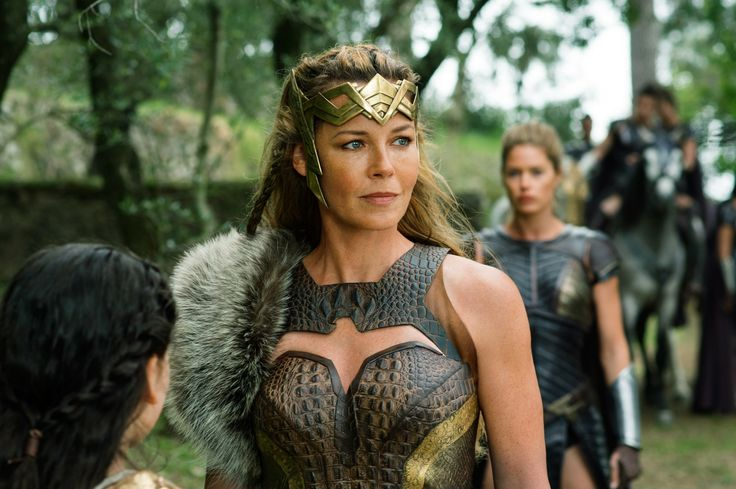 "Amazon Queen Hippolyta and other Amazons, from ""Wonder Woman"" 2017"