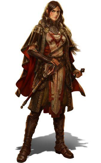 Teron Firegate guardswoman
