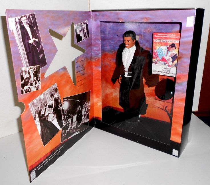 Ken as Rhett Butler from Gone with the Wind Hollywood Legends Collection Doll by Mattel, 1994 - I bought him on E-Bay.