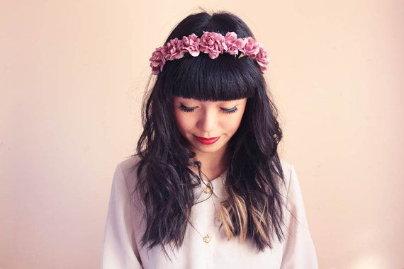 K is for Kani floral crown. Room 334: Things that caught my eye this week #23