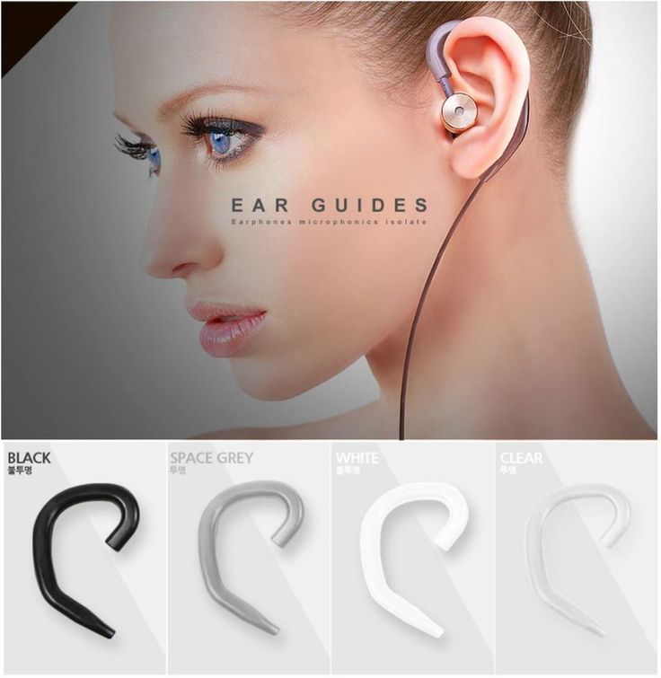 Ear Guides for Earphone Isolate #BEAT