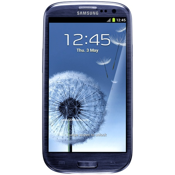 Samsung Galaxy S3 i9300 Pebble Blue  4.8inch HD TouchScreen 720x1280, 1.4Ghz Quad-Core processor, 16B, WiFi, 8MP camera, Android 4.0