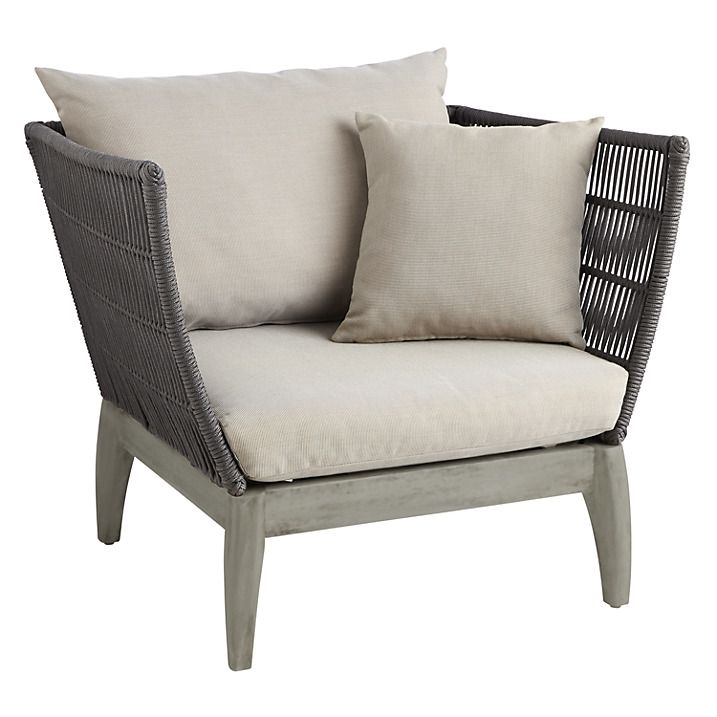 John Lewis Ariel Outdoor Lounging Armchair