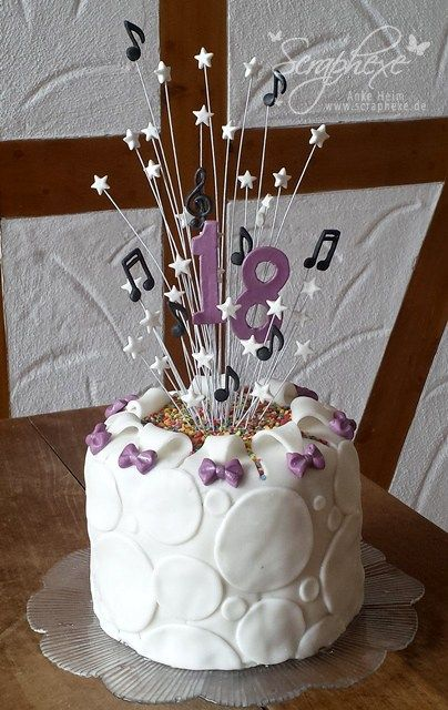 Fondant Torte Geburtstag Geburtstagstorte Fondant 18