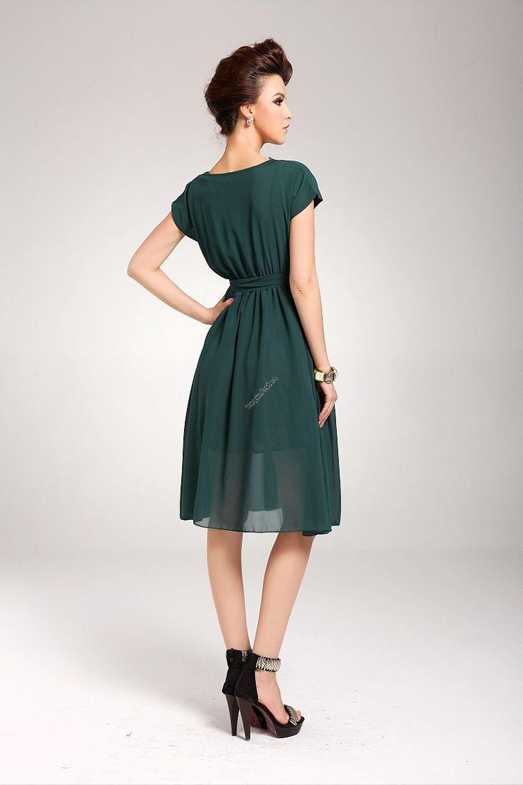 Chiffon One-piece dress