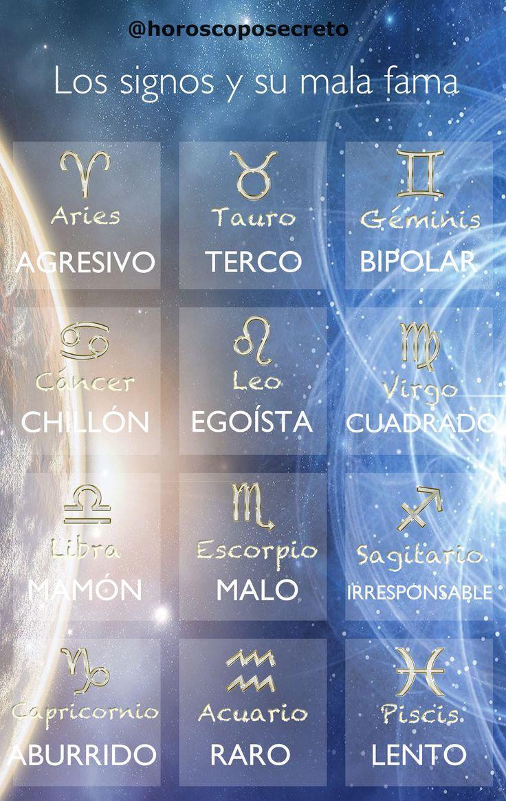 Los Signos Zodiacales Y Sus Malas Famas Signozodiacal Signo De Zodiaco Aries Signos Zodiacales Tatuajes Signos Zodiacales Signos