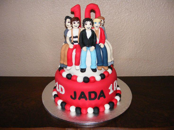 Jada's 10th birthday cake