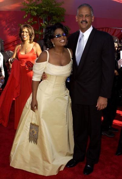 Oprah Winfrey and StedmanGraham