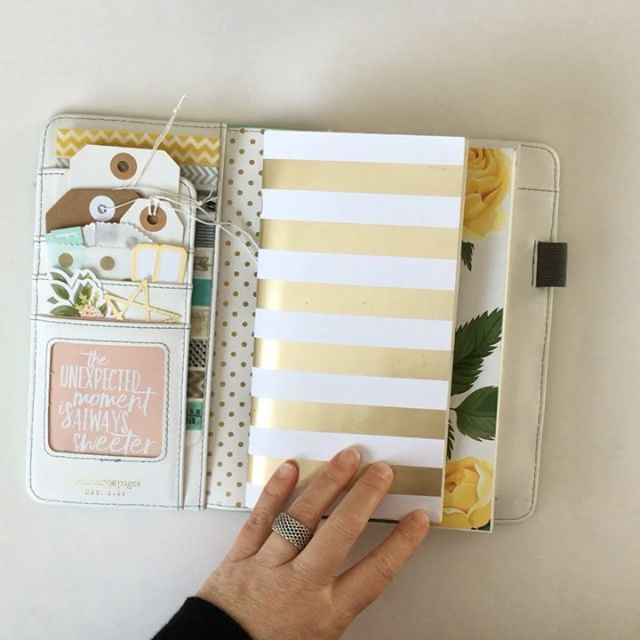 Sharing a couple quick tips on how I like using the Traveler's Notebook system.  I also most often use the Midori #003 books, remove the cover and replace it with my own more stylish covers.  The book I'm currently that holds all my notebooks together is from @websterspages. #kbstravelersnotebook