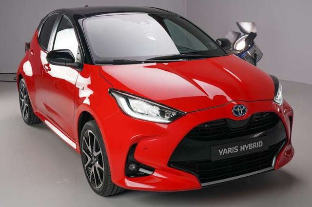 2020 Toyota Yaris Hatchback Revealed Toyota Yaris Hatchback