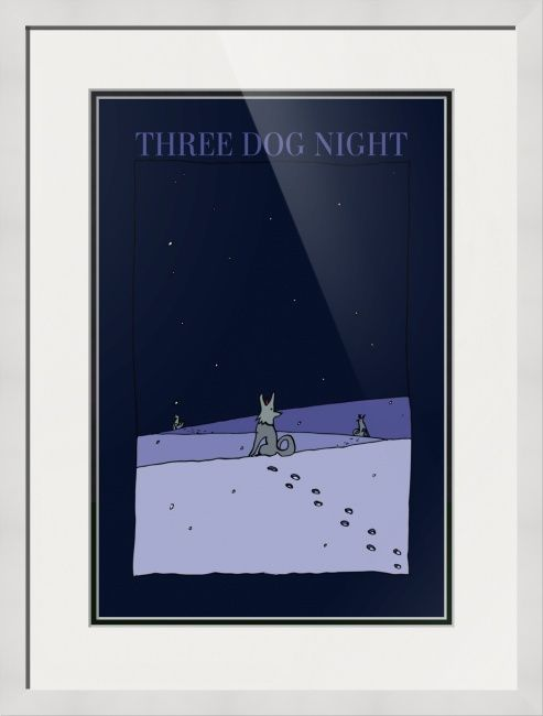 """""""Three+Dog+Night""""+by+BlackLineWhite+Art,++//+Abstract+drawing+on+music+american+jazz-rock+band+'Three+Dog+Night'.Three+Dog+Night+is+an+American+rock+band.+They+formed+in+1967+with+a+line-up+consisting+of+vocalists+Danny+Hutton,+Cory+Wells,+and+Chuck+Negron.+//+Imagekind.com+--+Buy+stunning+fine+art+prints,+framed+prints+and+canvas+prints+directly+from+independent+working+artists+and+photographers."""