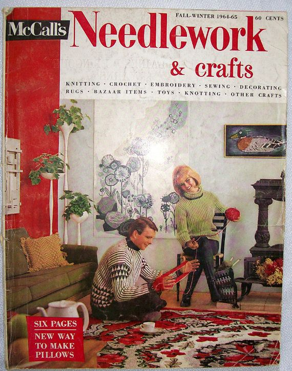 McCall's Needlework & Crafts  Fall-Winter 1964-65    Size: 10.25 x 13.25 inches