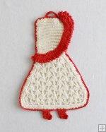 Premium Vintage Potholders Crochet Pattern - PB055 www.MaggiesCrochet.com