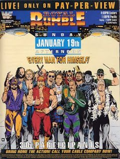 wwf ppv poster | Pro Wrestling Reviews: PPV REVIEW: WWF Royal Rumble 1992