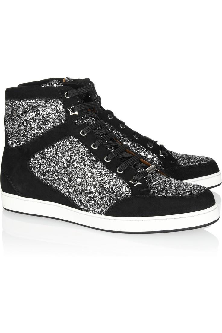 Jimmy Choo. Comfortable Glitz.: Glitter Sneakers, Jimmy Choo, Su Sneakers, Glitterfinish, Jimmychoo, Choo Glitter, Glitter Finish Su, Tokyo Glitter Finish, Choo Tokyo