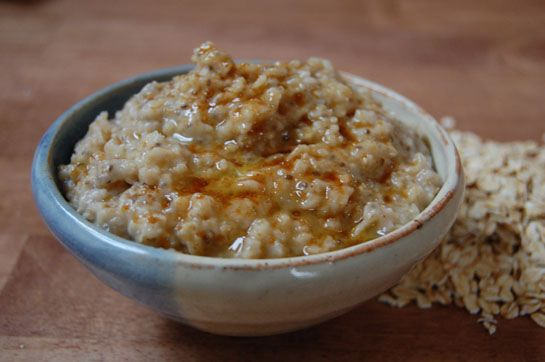 Soaked Oatmeal / The Nourishing Gourmet  (leave out the wheat flour to make gluten free)
