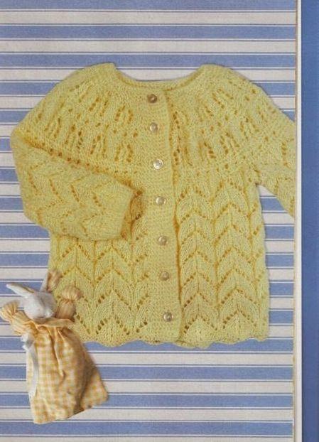 7 best Ropa de Bebé a Dos Agujas images on Pinterest   Ropa de bebés ...