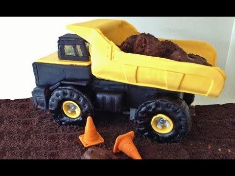 digger cake template - truck cake 3d tutorial how to cook that youtube reipes