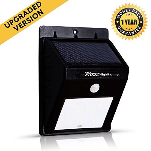 Solar Motion Sensor Light Extra Bright Upgraded Led