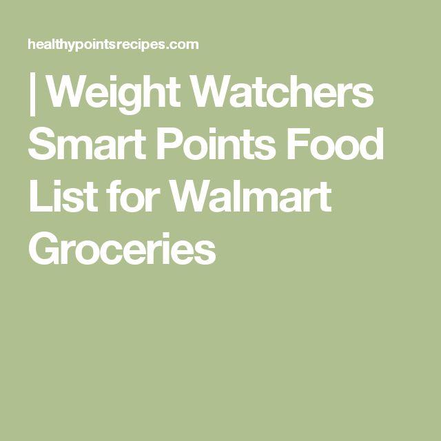 weight watchers smart points food list for walmart groceries 21 day fix pinterest weight. Black Bedroom Furniture Sets. Home Design Ideas