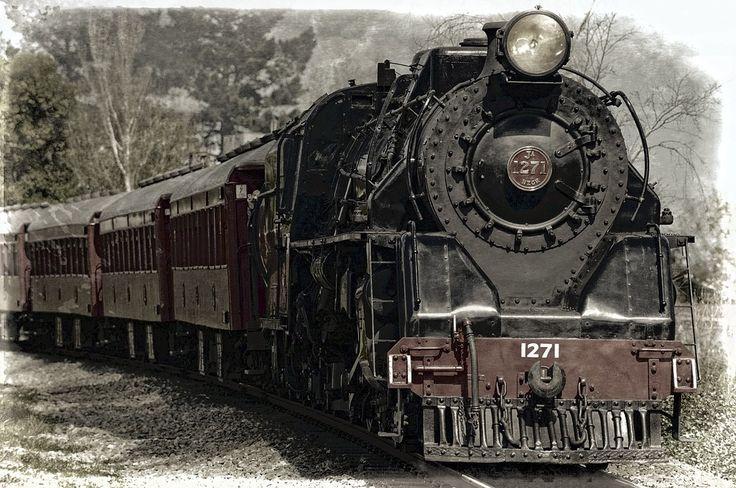 Locomotiva, Locomotiva A Vapor, Trem, Monumento