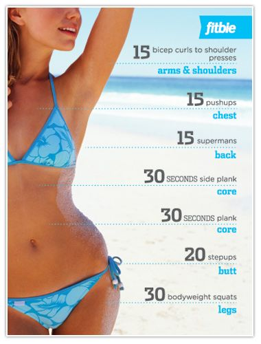 The Hot Body Workout: Woman Workout, Workout Body, Bikinis Body, Totally Body Workout, Work Outs, Workout Plans, Home Workout, Full Body Workout, Weights Loss