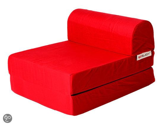 Sit and Joy - Portable Mattress - Rood