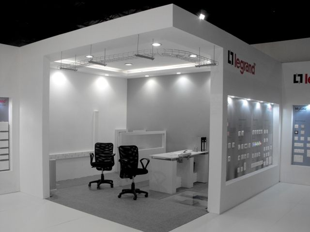 Office #Automation experience (Stall for Legrand at Acetech, Mumbai)
