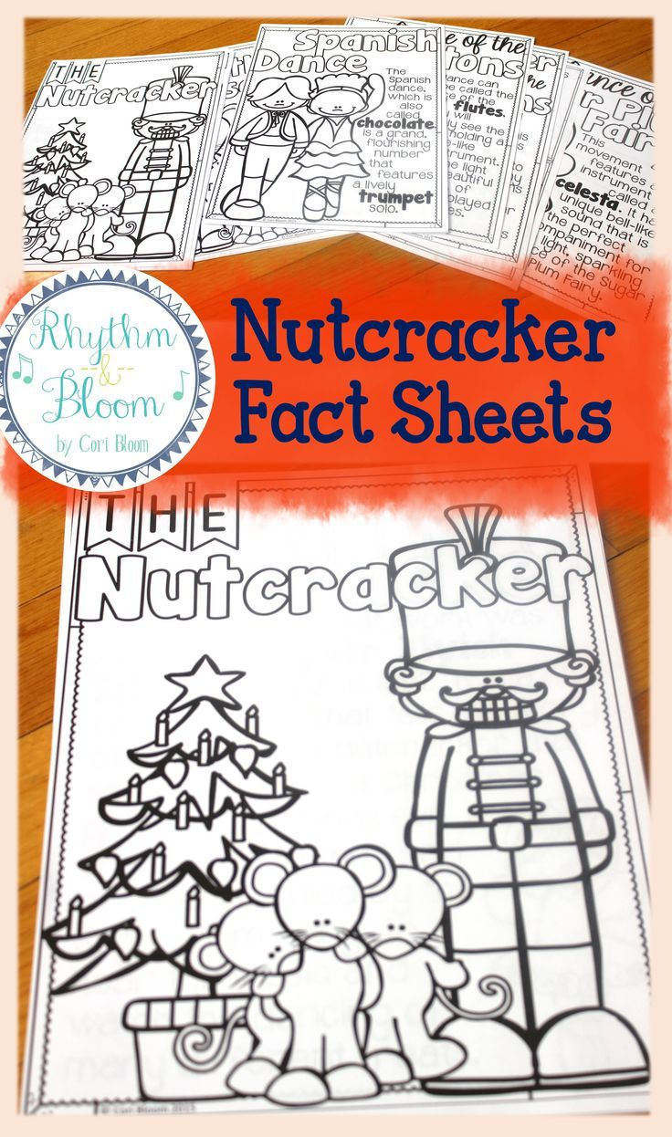 nutcracker listening journal fact sheets - Fun Sheets For Students