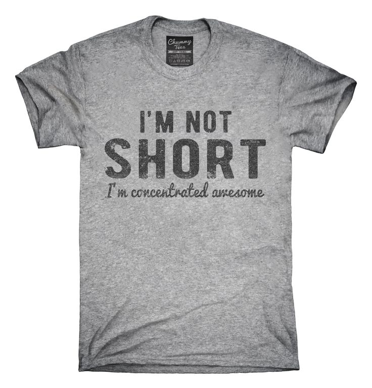 I'm Not Short I'm Concentrated Awesome Funny T-Shirts, Hoodies, Tank Tops