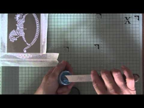 Sweet Poppy Stencils - How to change dimension medium with mica powders