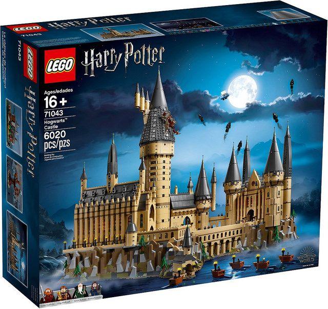 Le Chateau De Poudlard 71043 Lego Hogwarts Hogwarts Grosse Halle Harry Potter Alter